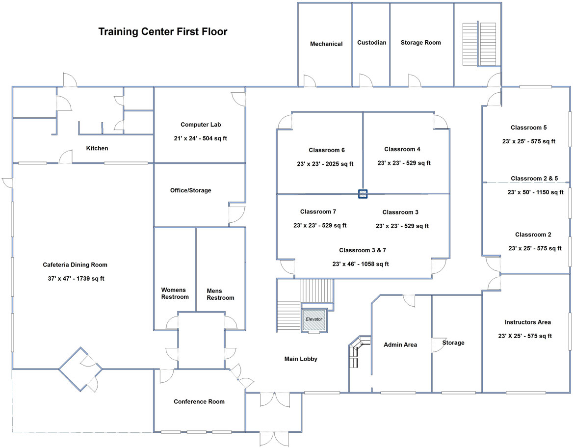 Training-Center-First-Floor